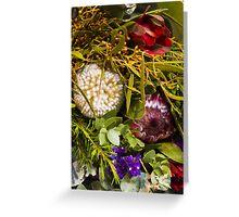 Australian bouquet Greeting Card