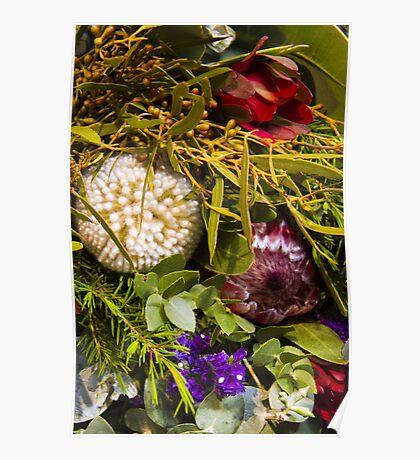 Australian bouquet Poster