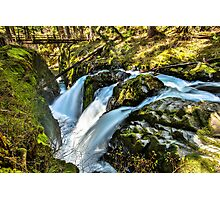 Sol Duc Falls Photographic Print