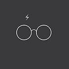 Harry Potter Minimalist by Nick Symeou