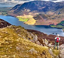 Crummock Water from Red Pike by David Lewins