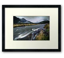The Misty Mountains - Cascade Creek  Framed Print