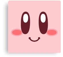Kirby Face Canvas Print