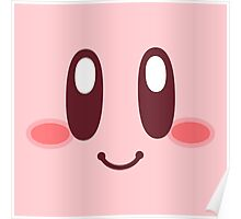 Kirby Face Poster