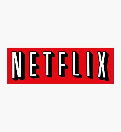 Netflix Photographic Print