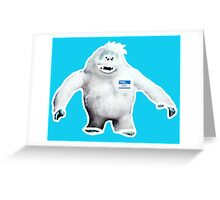 Hello, My Name is Bumble Greeting Card