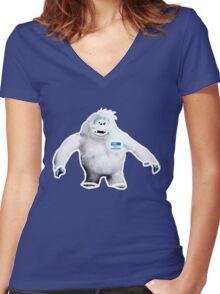Hello, My Name is Bumble Women's Fitted V-Neck T-Shirt