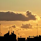 Sunset in the city by efecreata