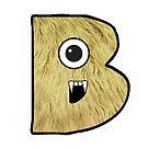 Monster Letter B by antsp35