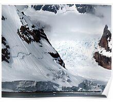 Danco Island view, Antarctica Poster