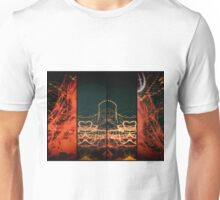 Lightpainting Quads Art Print Photograph 1 Unisex T-Shirt