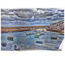 mosehole historic harbourside Poster