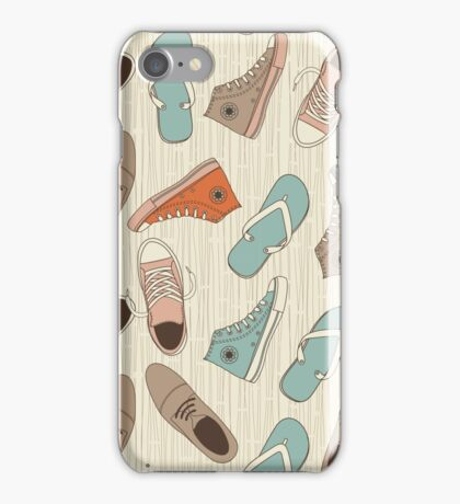 doodle shoes iphone case iPhone Case/Skin