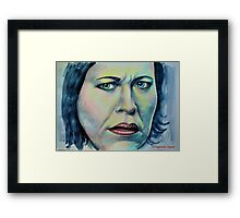 Nicola Walker, featured in Group-Gallery of Art and Photography Framed Print