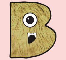 Monster Letter B Kids Clothes