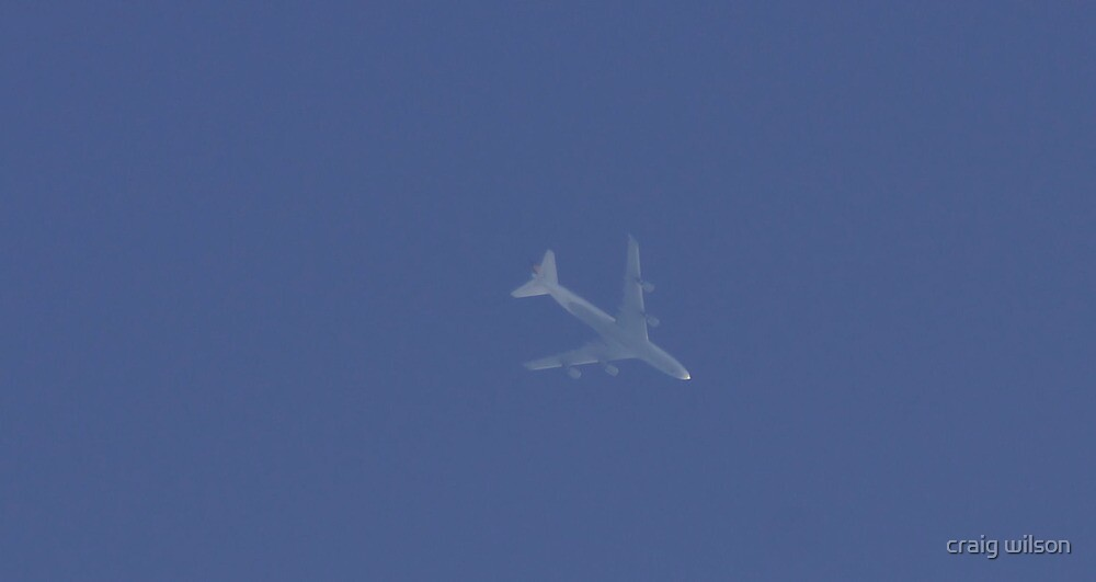 lufthansa flying by at 36,400ft by craig wilson