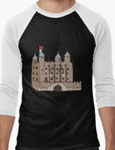 The tower of London  Men's Baseball ¾ T-Shirt