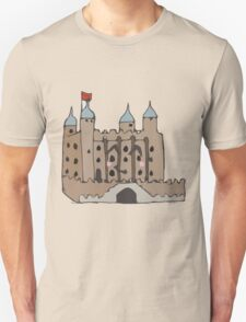 The tower of London  Unisex T-Shirt