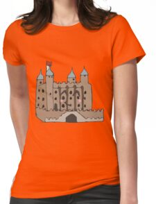The tower of London  Womens Fitted T-Shirt