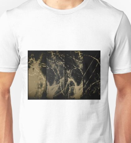Lightpainting Quads Art Print Photograph 4 Unisex T-Shirt