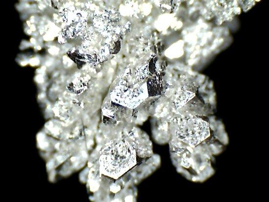 Pure Silver As Crystal by Stephanie Bateman-Graham