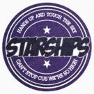 Nicki Minaj - Starships Vintage Scratched Sticker by sirmaverick