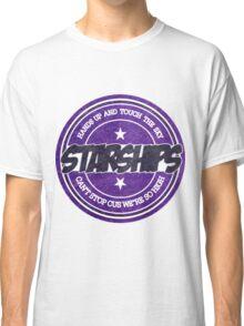 Nicki Minaj - Starships Vintage Scratched Sticker Classic T-Shirt