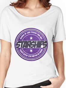 Nicki Minaj - Starships Vintage Scratched Sticker Women's Relaxed Fit T-Shirt