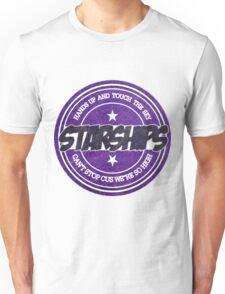 Nicki Minaj - Starships Vintage Scratched Sticker Unisex T-Shirt