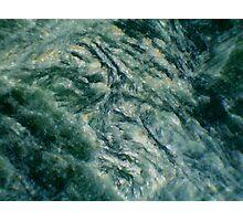 Ridges in Green Photographic Print