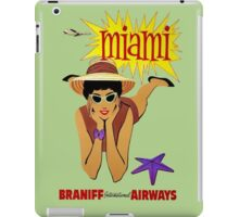 Miami funny, geek, couples, sport, cool iPad Case/Skin