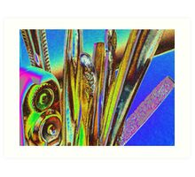 abstract in the kitchen Art Print
