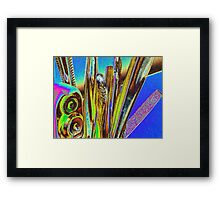 abstract in the kitchen Framed Print