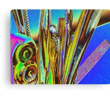 abstract in the kitchen Canvas Print