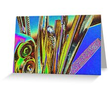 abstract in the kitchen Greeting Card