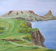 Worm's Head, Gower by HurstPainters