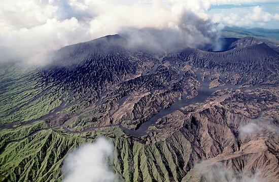 Mount Bembow volcano by Sami Sarkis