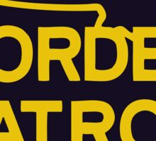 US Border Patrol Seal Sticker Sticker