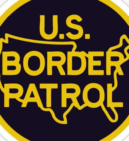 US Border Patrol Seal Sticker Sticker