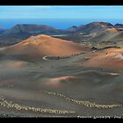 Volcanic Landscape of Timanfaya by paulsk