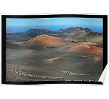 Volcanic Landscape of Timanfaya Poster