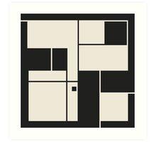 De Stijl / Bauhaus series 1 Art Print