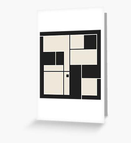 De Stijl / Bauhaus series 1 Greeting Card