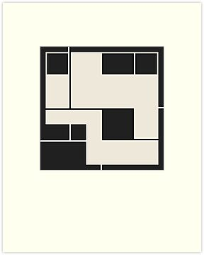 De Stijl / Bauhaus series 2 by Jamie Harrington