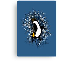 The Penguin's Child Canvas Print