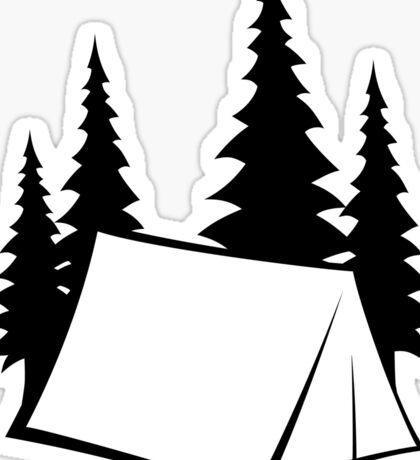 Camp Site Sticker