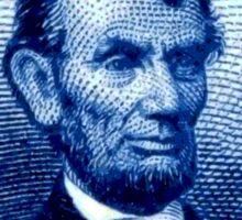USA Abraham Lincoln Postage Stamp Sticker
