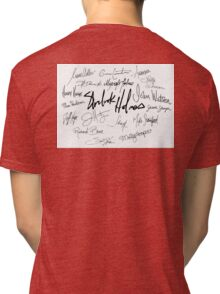 Sherlock Signature Series - Everybody! Tri-blend T-Shirt
