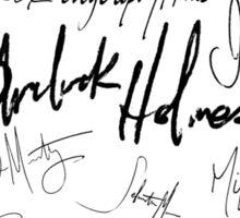 Sherlock Signature Series - Everybody! Sticker