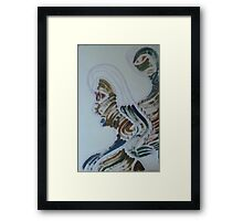 Boy with the girl Framed Print